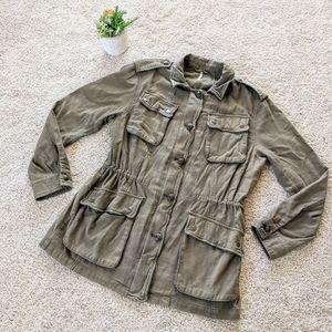 Free People Army Jacket